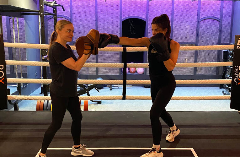 WE STEP INTO THE RING AT BOXCENTRIC KNIGHTSBRIDGE