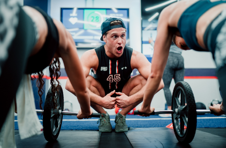 STAY ON TRACK WITH FITNESS AND FIND YOUR BALANCE WITH F45