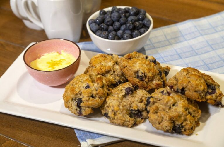 Fare With A Flair: Blueberries add tasty local touch to scones