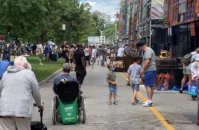 London gets first taste of park festivals in two years with Ribfest