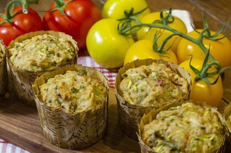 Fare With a Flair: Zucchini muffins great summer salad sidekick